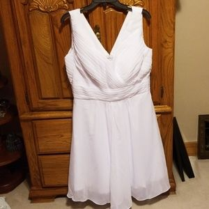 Dresses & Skirts - White cocktail party dress
